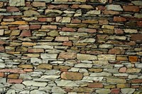 England, Lake District, Stone Pattern Fine Art Print