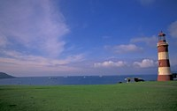 Lighthouse of Plymouth Hoe, Plymouth, England by Nik Wheeler - various sizes
