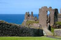 Ireland, Dunluce Castle Ancient Architecture Fine Art Print