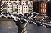 Millenium Bridge, London, England by Walter Bibikow - various sizes