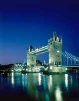 Tower Bridge, London, England Fine Art Print