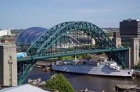 Tyne Bridge and The Sage, Newcastle on Tyne, Tyne and Wear, England by Paul Thompson - various sizes