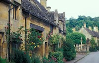 Village of Snowshill, Cotswolds, Gloucestershire, England by Nik Wheeler - various sizes, FulcrumGallery.com brand