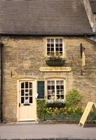 Cottage Tea Rooms, Stow on the Wold, Cotswolds, Gloucestershire, England Fine Art Print