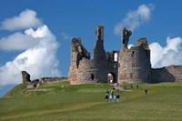 Dunstanburgh Castle Ruins Northumberland England