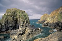 Mullion Cove, Cornwall, England Fine Art Print