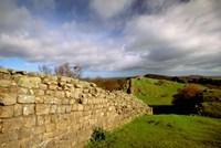 2nd Century Roman Wall, Hadrian's Wall, Northumberland, England by Walter Bibikow - various sizes - $42.49