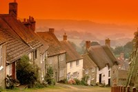 Shaftesbury, Gold Hill, Dorset, England by Walter Bibikow - various sizes, FulcrumGallery.com brand