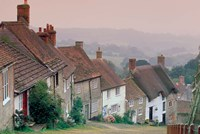 Town Architecture, Shaftesbury, Gold Hill, Dorset, England by Walter Bibikow - various sizes