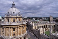 Radcliffe Camera and All Souls College, Oxford, England Fine Art Print