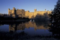 Sunset on Leeds Castle, Leeds, England by Howie Garber - various sizes