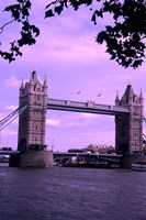 Tower of London Bridge, London, England Fine Art Print