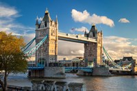 Tower Bridge from Tower of London, England Fine Art Print