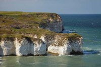 Chalk cliffs by North Landing, Flamborough Head, Yorkshire, England by David Wall - various sizes