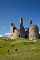 Dunstanburgh Castle Ruins, Northumberland, England by David Wall - various sizes