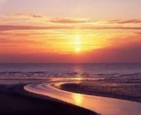 Sunset, Blackpool, Lancashire, England by Paul Thompson - various sizes - $47.49