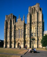 Wells Cathedral, Somerset, England by Paul Thompson - various sizes