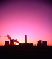 Coal Fired Power Station, Warrington, Cheshire, England by Paul Thompson - various sizes