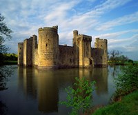 Bodiam Castle, Sussex, England Framed Print