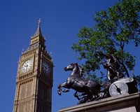 Big Ben and Statue of Boadicea, London, England by Paul Thompson - various sizes