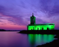 Church at Rutland Water at Sunset, Leicestershire, England by Paul Thompson - various sizes