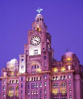 Liver Building, Liverpool, Merseyside, England by Paul Thompson - various sizes