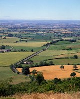 Farmland from Sutton Bank, North Yorkshire, England by Paul Thompson - various sizes - $47.99
