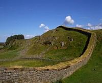 Hadrian's Wall, Northumberland, England Fine Art Print