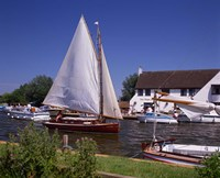 Horning, Norfolk Broads, Norfolk, England by Paul Thompson - various sizes