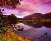 Grasmere in The Lake District, Cumbria, England Fine Art Print