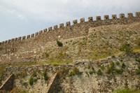 Byzantine Fortress, Lesvos, Mithymna, Northeastern Aegean Islands, Greece by Walter Bibikow - various sizes