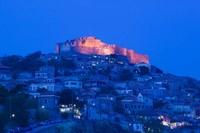 Byzantine-Genoese Castle, Lesvos, Mithymna, Northeastern Aegean Islands, Greece by Walter Bibikow - various sizes - $36.99