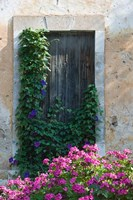Detail of Old House, Assos, Kefalonia, Ionian Islands, Greece by Walter Bibikow - various sizes