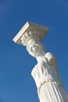 Greece, Ionian Islands, Kefalonia, Caryatid Statue by Walter Bibikow - various sizes