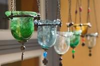 Manolates Glassware, Manolates, Samos, Aegean Islands, Greece by Walter Bibikow - various sizes