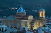 Town Church, Kokkari, Samos, Aegean Islands, Greece by Walter Bibikow - various sizes