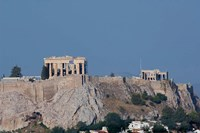 Greece, Athens View of the Acropolis Fine Art Print