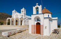 Church in Small Town of Dryos, Paros, Greece by Bill Bachmann - various sizes