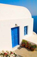 White House, Oia, Santorini, Greece Fine Art Print