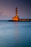 Greece, Crete, Chania, Harbor, Venetian Lighthouse by Darrell Gulin - various sizes, FulcrumGallery.com brand