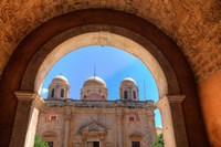 Greece, Crete, Archway into Monastery near Chania by Darrell Gulin - various sizes