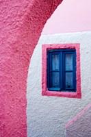 Colorful Pink Building, Imerovigli, Santorini, Greece by Darrell Gulin - various sizes