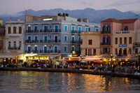 Old Harbor Chania Crete Greece