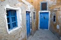 Very Old Building Built, Oia, Santorini, Greece Fine Art Print