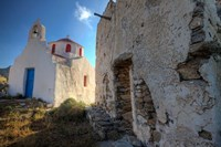 Old building and Chapel in central island location, Mykonos, Greece by Darrell Gulin - various sizes