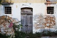 Old Doorway, Chania, Crete, Greece Fine Art Print