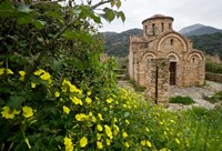 Greece, Crete, Byzantine Church of the Panayia Fine Art Print