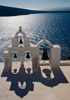 Bell Tower overlooking The Caldera, Oia, Santorini, Greece by Darrell Gulin - various sizes