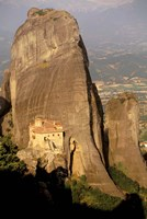 Roussanou Monastery, Meteora, Thessaly, Greece by Walter Bibikow - various sizes - $41.49