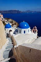Oia, Santorini, Greece Fine Art Print